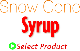 SnowCone Syrup